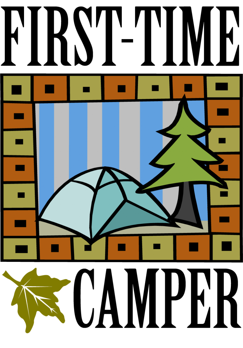 First Time Camper Logo