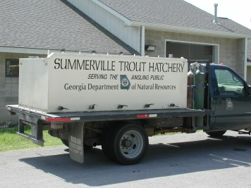 Fish Stocking Truck