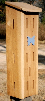 Butterfly box. Terry W. Johnson